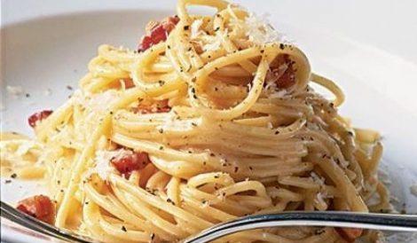Italija makaronai