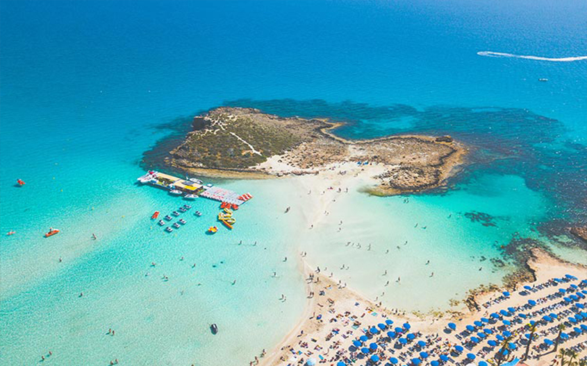 Kipras Nisi paplūdimys
